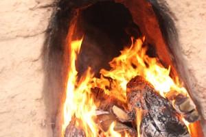 Monitorización de temperatura de un horno Ibérico