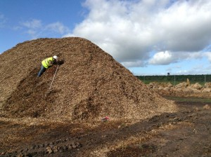 Monitoritzación  en acopios de astillas de biomasa